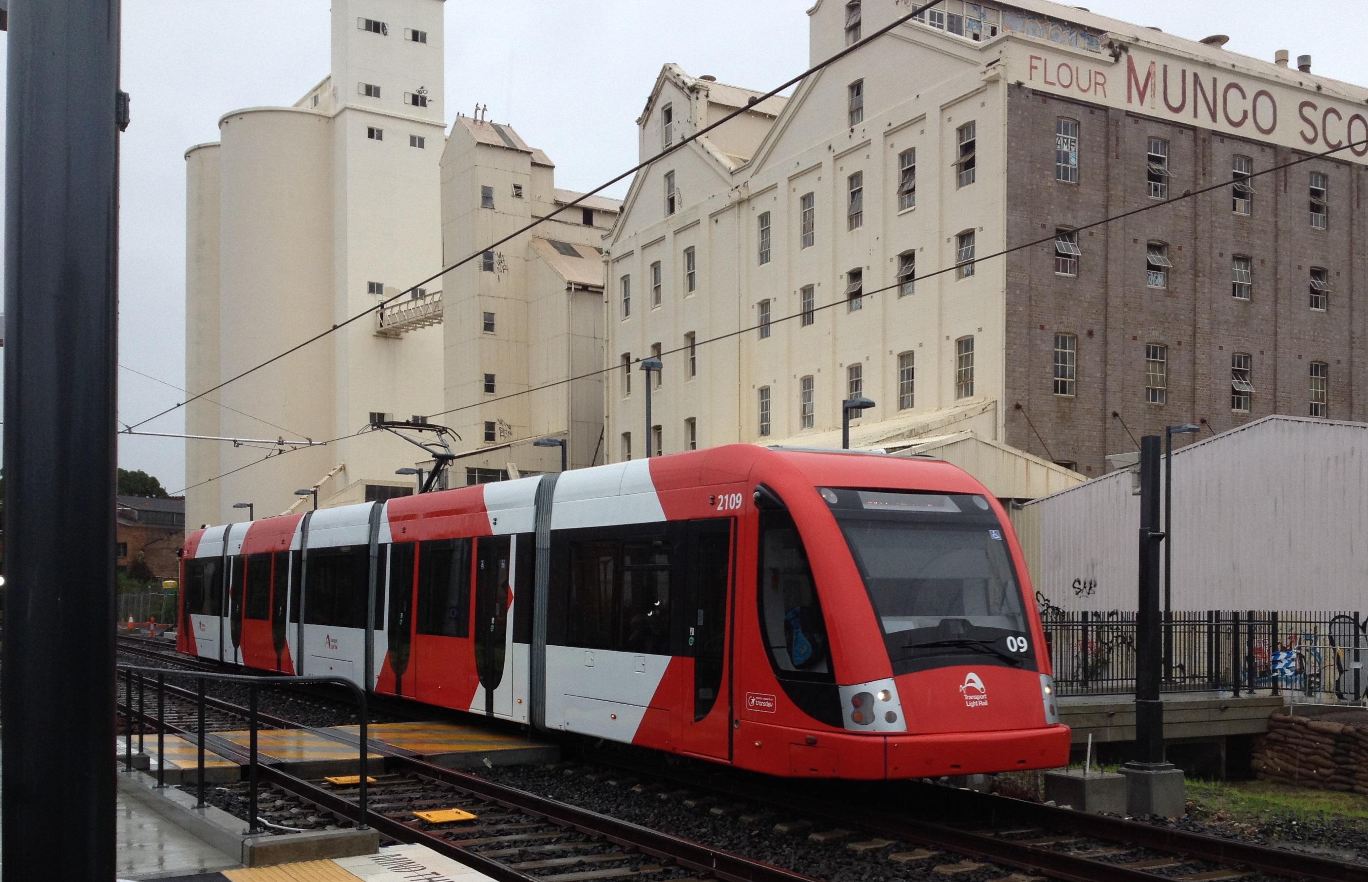 Inner West Light Rail opens for business
