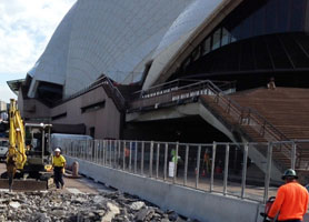 Sydney Opera House Vehicle and Pedestrian Safety Project